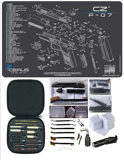 Amazon com : EDOG CZ P - 07 CERUS Gear Schematic (Exploded View