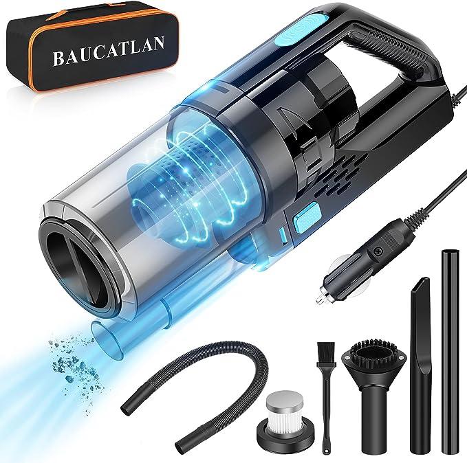 Baucatlan Portable Car Vacuum Cleaner