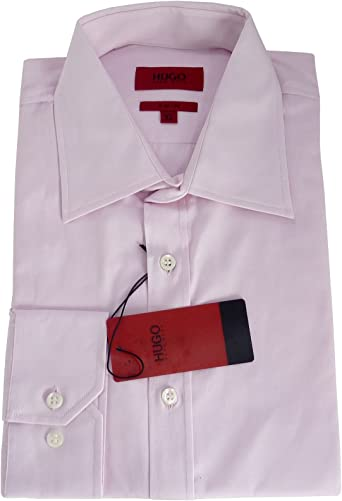 BOSS Camisa Hugo Emil Azul Creme Rosa Rose XXL: Amazon.es ...
