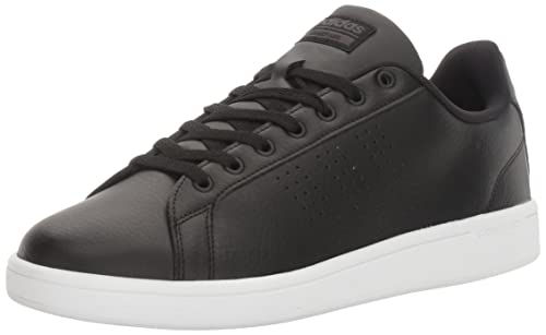 more photos 2ba94 5665a Adidas NEO Mens Cloudfoam Advantage Clean Sneakers, BlackBlackWhite, 4  Medium