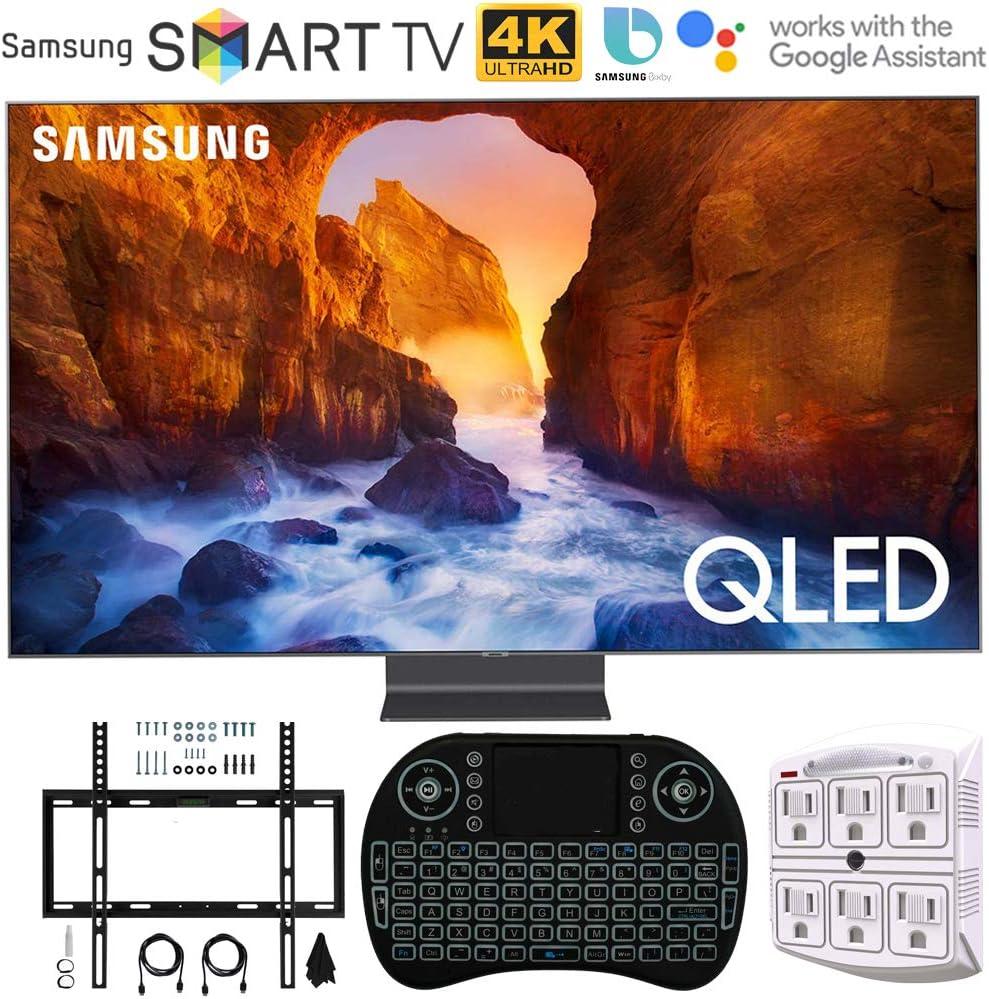 Samsung Q90 QLED Smart 4K UHD TV (modelo 2019) – (Enewed) con kit ...