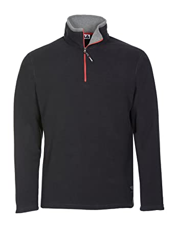 fila 1 4 zip. fila men\u0027s polartec fleece 1/4 zip pullover, black, 1 4