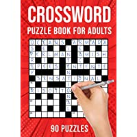 Crossword Puzzle Books for Adults: Quick Cross Word Puzzles Activity Book | 90 Puzzles (US Version)