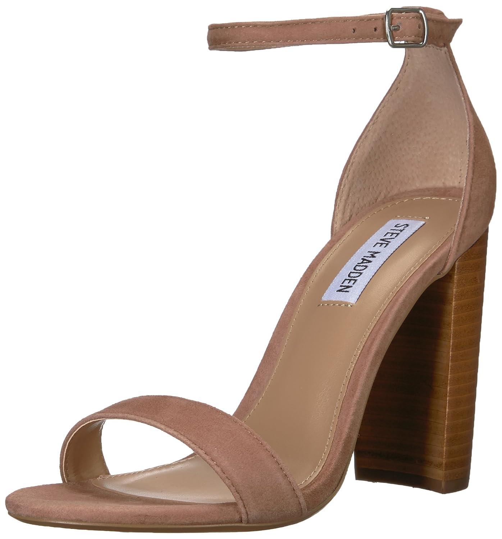Steve Madden Women's Carrson Dress Sandal B07C8FGRPZ 8 B(M) US Tan/Multi