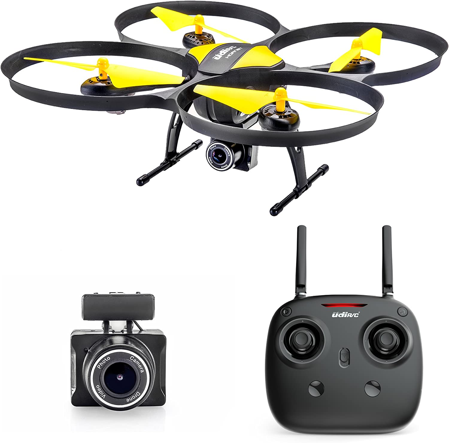 Altair 818 Hornet Beginner Drone with Camera   Free Priority Shipping   Live Video Drone for Kids & Adults, 15 Min Flight Time, Altitude Hold, Personal Hobby Starter RC Quadcopter for All Ages