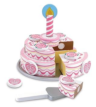 Resultado de imagen de tarta de madera rosa