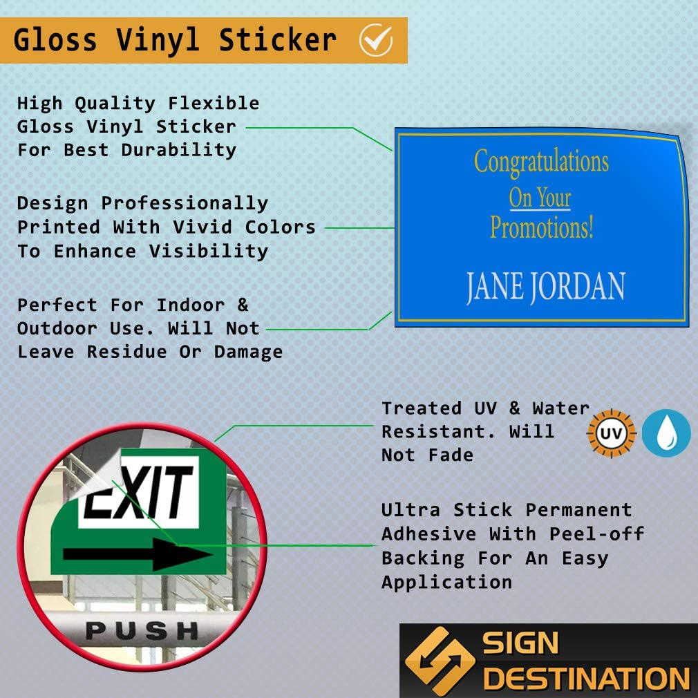 Custom Door Decals Vinyl Stickers Multiple Sizes Cleaning Services Name Number Website Business Cleaning Services Outdoor Luggage /& Bumper Stickers for Cars Blue 27X18Inches Set of 10