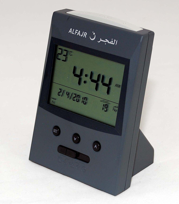 Al-Fajr Large Azan Digital Clock Islamic Muslim Prayer (CS