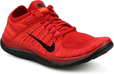 e7aa1bffff ... amazon nike mens free 4.0 flyknit running shoe red sizeeu 47.5 4fee0  5a92c