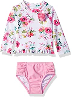 4159245299e39 Amazon.com: Little Me Children's Apparel Baby and Toddler Girls UPF ...