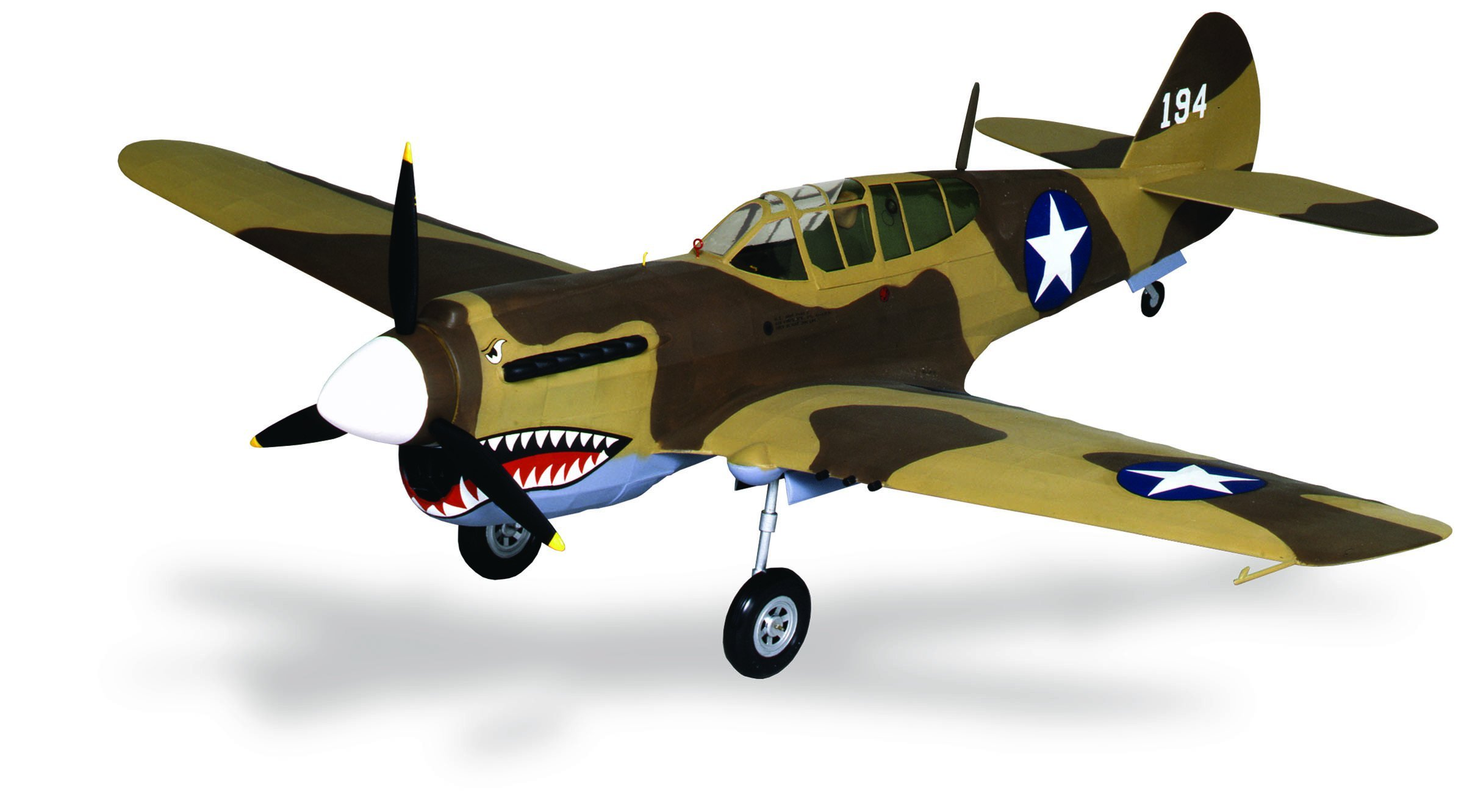 Guillow's P-40 Warhawk Laser Cut Model Kit by Guillow (Image #3)