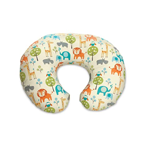Boppy Nursing Pillow and Positioner, Peaceful Jungle by ...