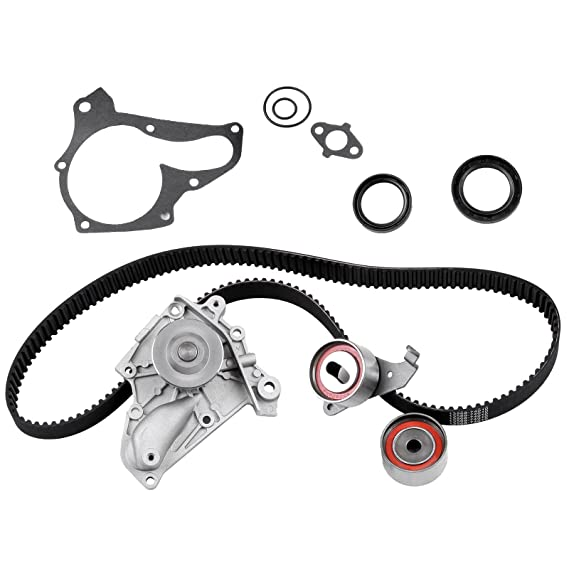 Amazon Com Timing Belt Kit Including Timing Belt Water Pump With