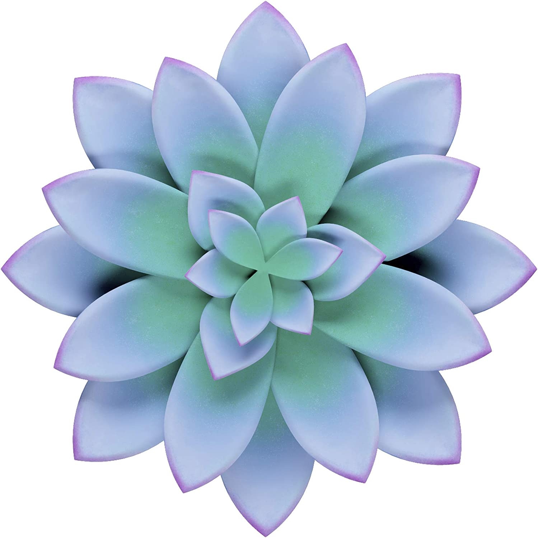 Yisheng Metal Flower Decor Sculptures, Outdoor Garden Hanging, Floral Wall Art, Indoor Decoration for Living Room, Office, Kitchen, Bedroom