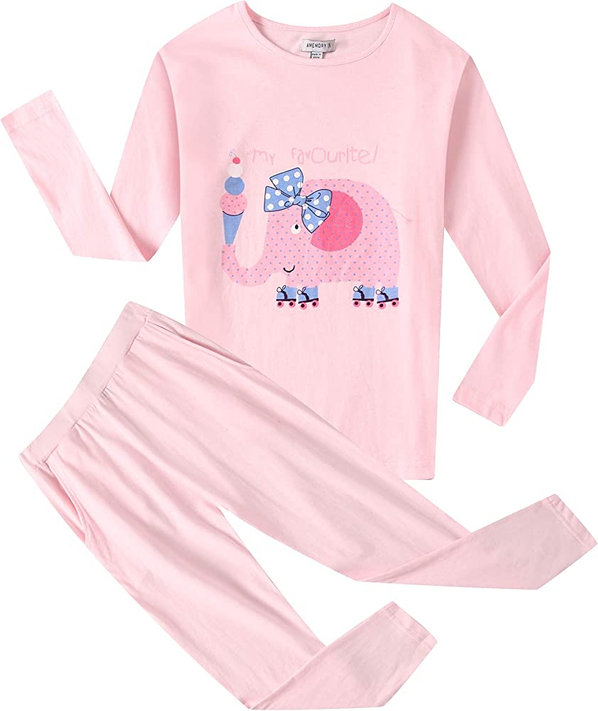 Amazon.com: Richie House Girls' Pink Soft Cotton Sets with Long Pants  AM2868-A-8: Clothing
