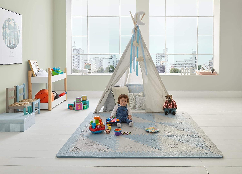 Puzzles de suelo suelo extra acolchado para niños Alfombra puzzle infantil para bebés de Foam ...