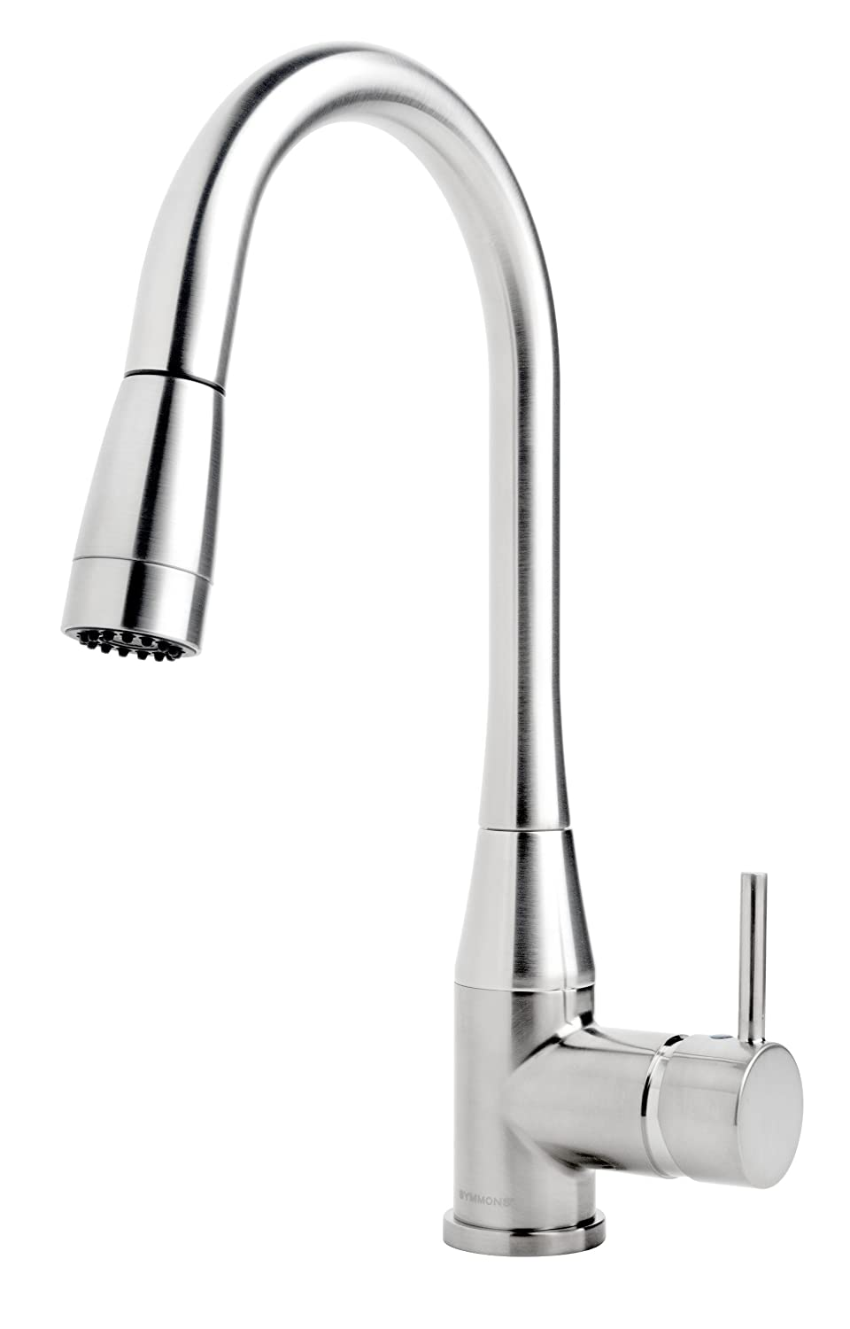 Symmons Sereno Single Handle Pull-Down Kitchen Faucet with 360 ...