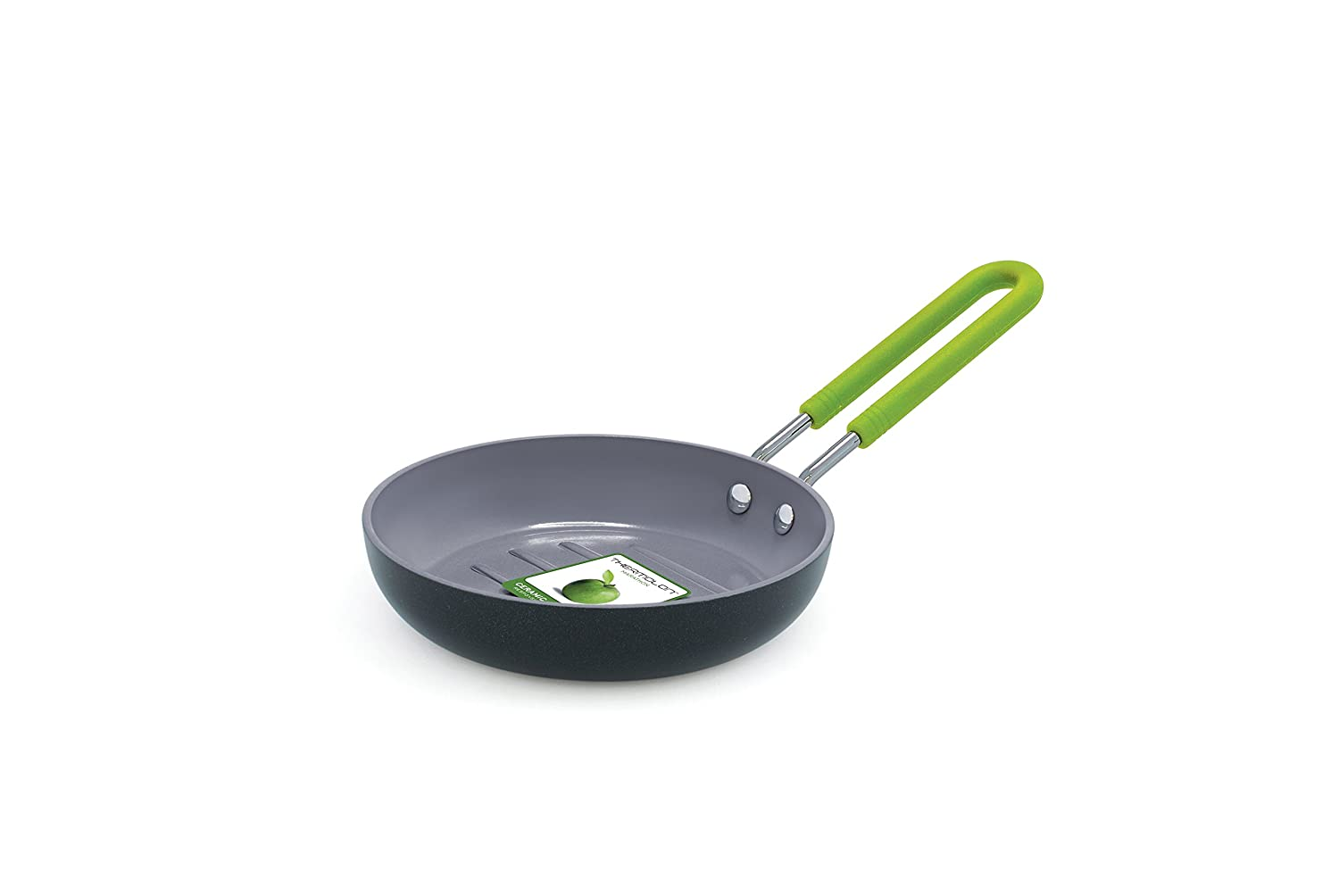 GreenPan Mini Ceramic Non-Stick Round Burger Pan