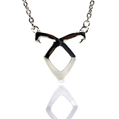 Beaux Bijoux - Power Rune Necklace SHADOWHUNTER Mortal Instruments Angelic Pendant Clary Fray DSCFu6f