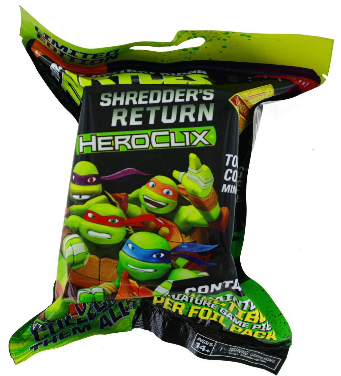 Amazon.com: WizKids Heroclix TMNT Shredders Return Gravity ...