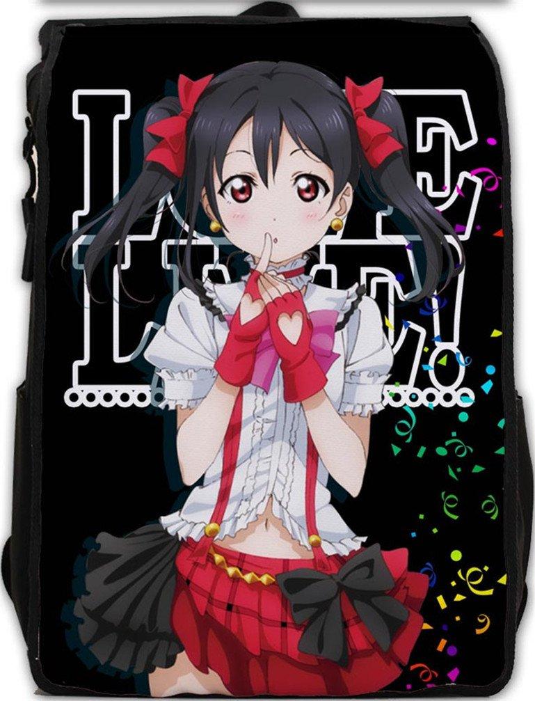 YOYOSHome Anime Love Live! Cosplay Cartoon Rucksack Backpack School Bag(# 93)