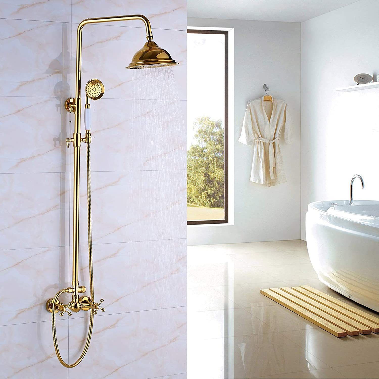 Saeuwtowy - Columna de ducha mezcladora con sistema de ducha de ...