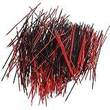 SODIAL(R) 400Pcs Jumper Cable BreadBoard fil electronique Essai Solderless Arduino Wire 6cm