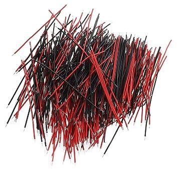 SODIAL(R) Cable Jumper alambre electrico sin soldadura de tablero de circuitos prueba para Arduino alambre 6 cm: Amazon.es: Electrónica