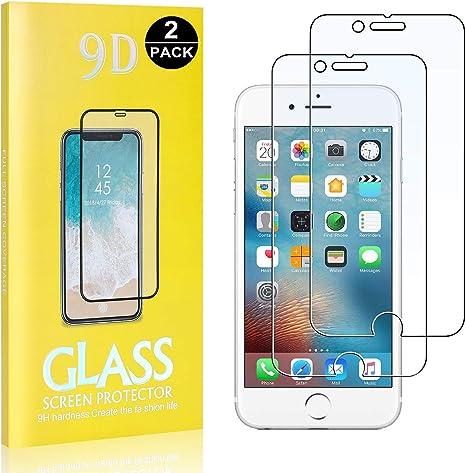 SONWO Protector Pantalla iPhone 6 / iPhone 6s, 2 Unidades Protector de Pantalla para Apple iPhone 6 / iPhone 6s, Dureza 9H: Amazon.es: Bebé