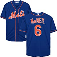 $149 » Jeff McNeil New York Mets Autographed Majestic Blue Replica Jersey - Fanatics Authentic Certified - Autographed MLB Jerseys