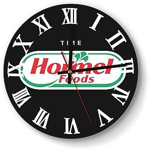 Hormel Foods Design Wall Clock Decorative Home Quiet Clock