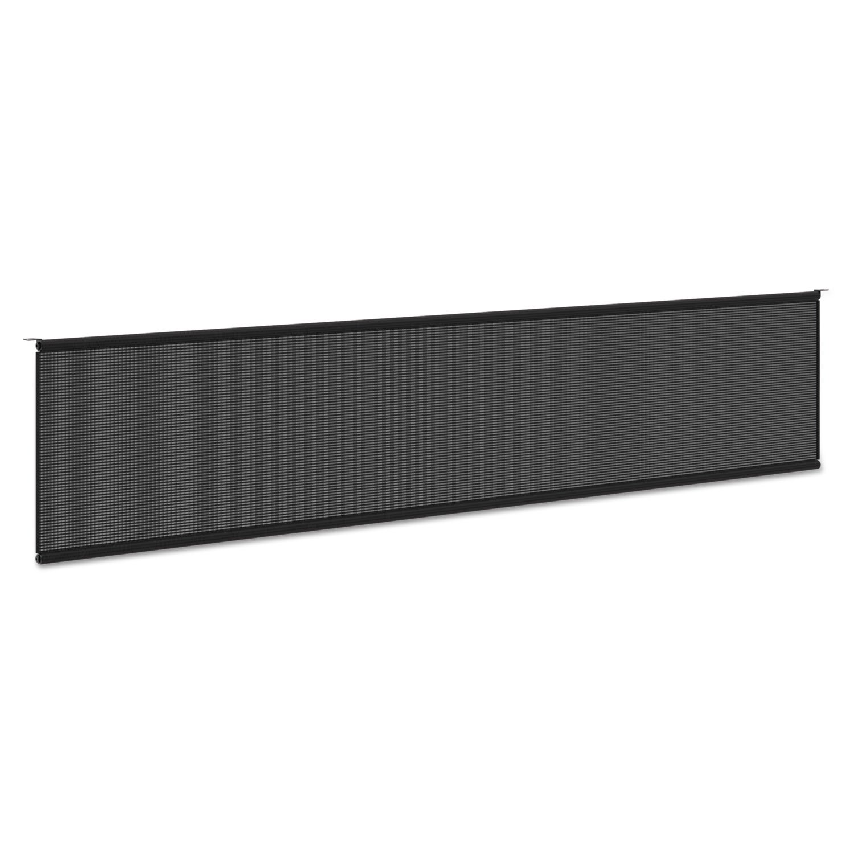 4COU Basyx BMPT72MOD Multipurpose Table Modesty Panel, 60 1/2w x 5/8d x 10h, Black