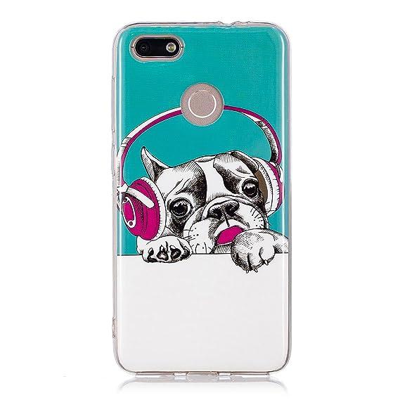 super popular 0f18b 99743 Amazon.com: Huawei P9 Lite Mini Case, Luminous Noctilucent Glow in ...