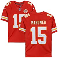 $399 » Patrick Mahomes Kansas City Chiefs Signed Autograph Red Nike Game Replica Jersey JSA Certified