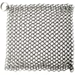 Cast Iron Cleaner,TILO Premium Stainless Steel Cast Iron Skillet Chainmail Scrubber- Extra Large 7x7 inch - Easily Cleans Cast Iron Skillets, Griddles, and Camping Pots and Pans (Square)