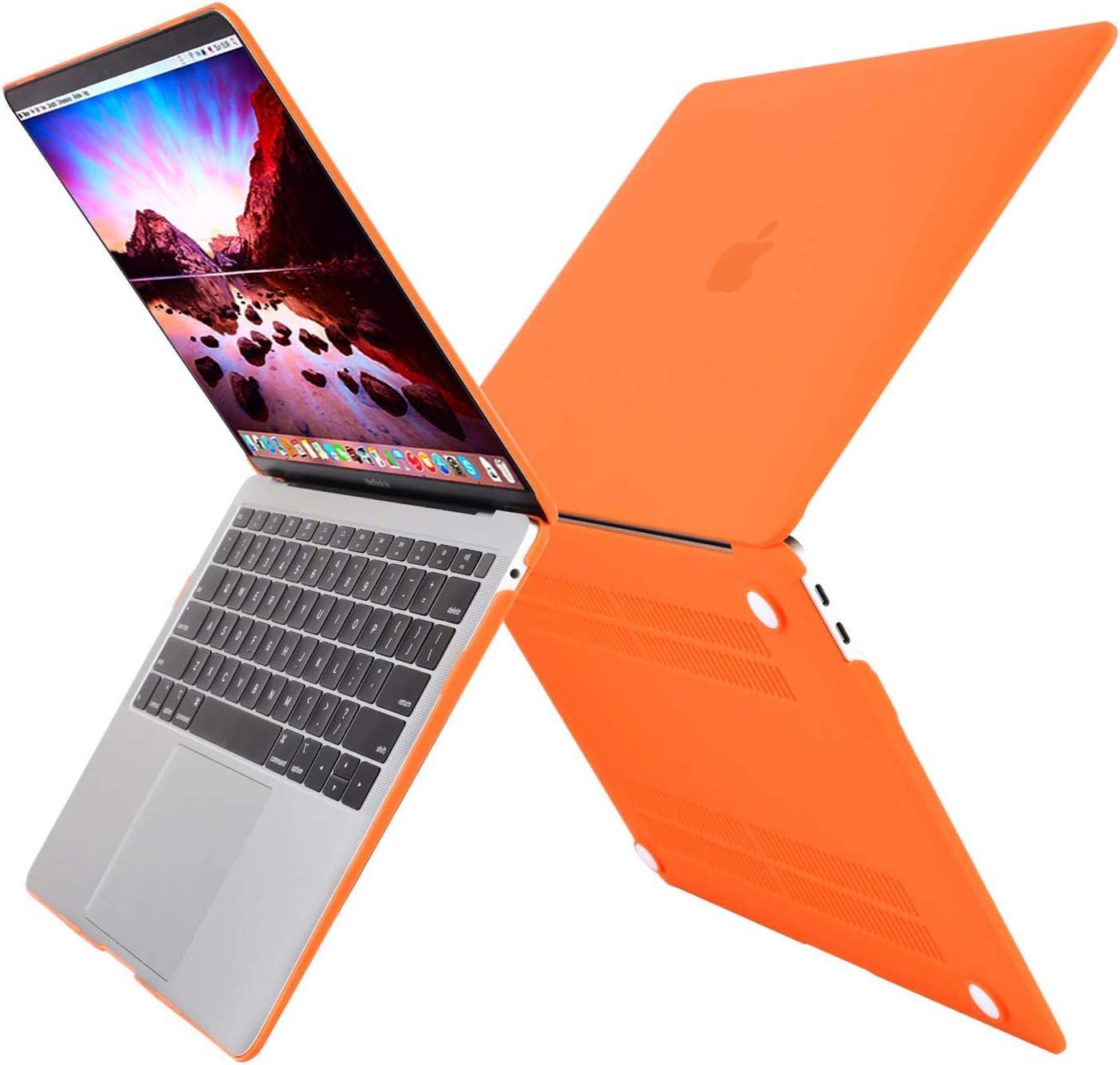 MOSISO H/ülle Kompatibel mit MacBook Air 13 2020 2019 2018 Freisetzung A2179 A1932 Retina Display Plastik Hartschale Case Cover Nur Kompatibel mit MacBook Air 13 Zoll mit Touch ID Mitternacht Gr/ün
