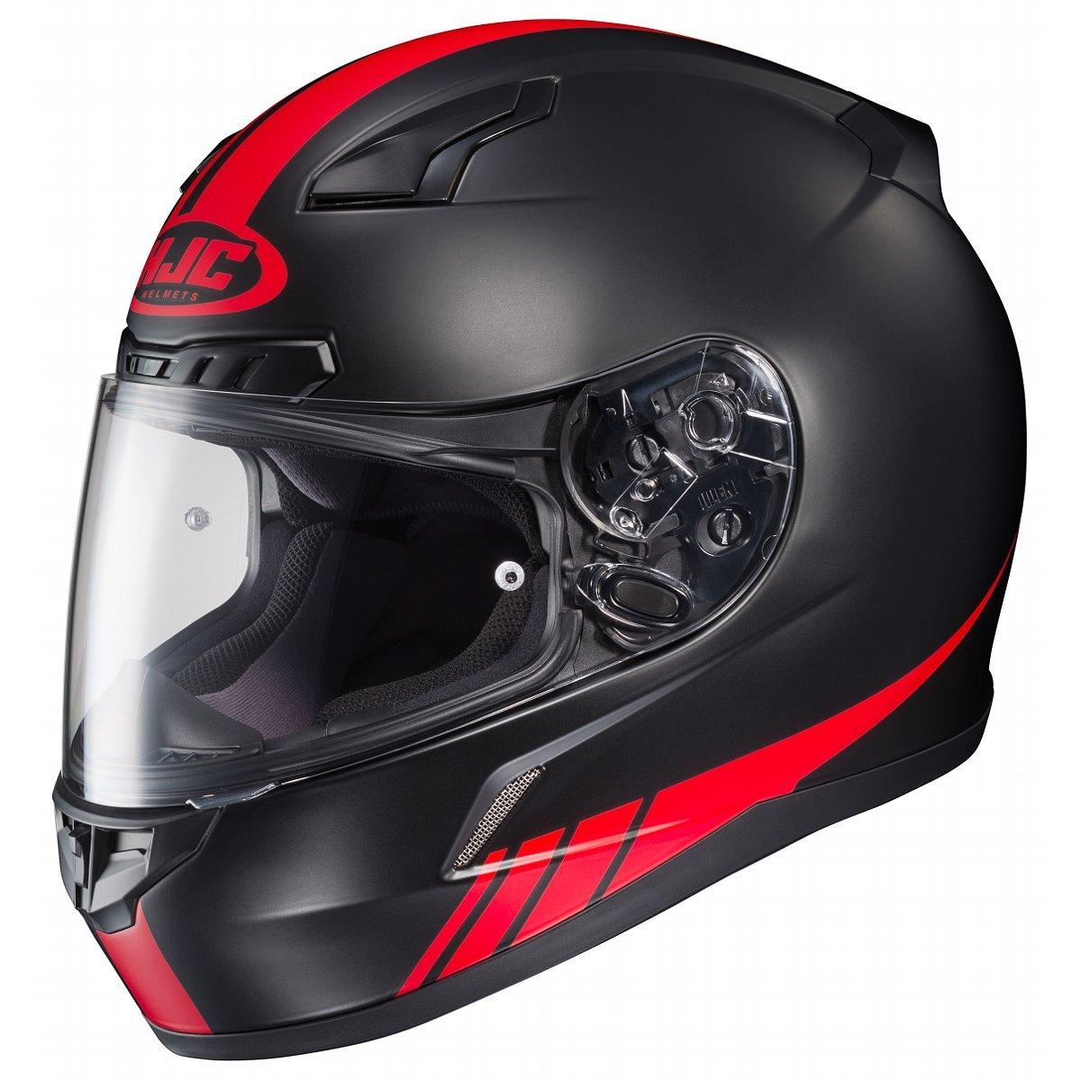 HJC CL-17 Streamline Black/Red Full Face Helmet, S