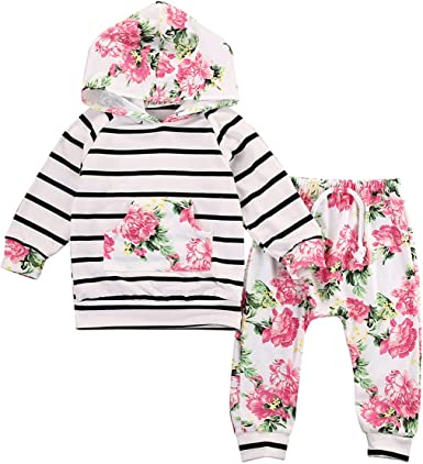 Toddler Kid Girls T-shirt Long Sleeve Tops  Clothes Size0-3M