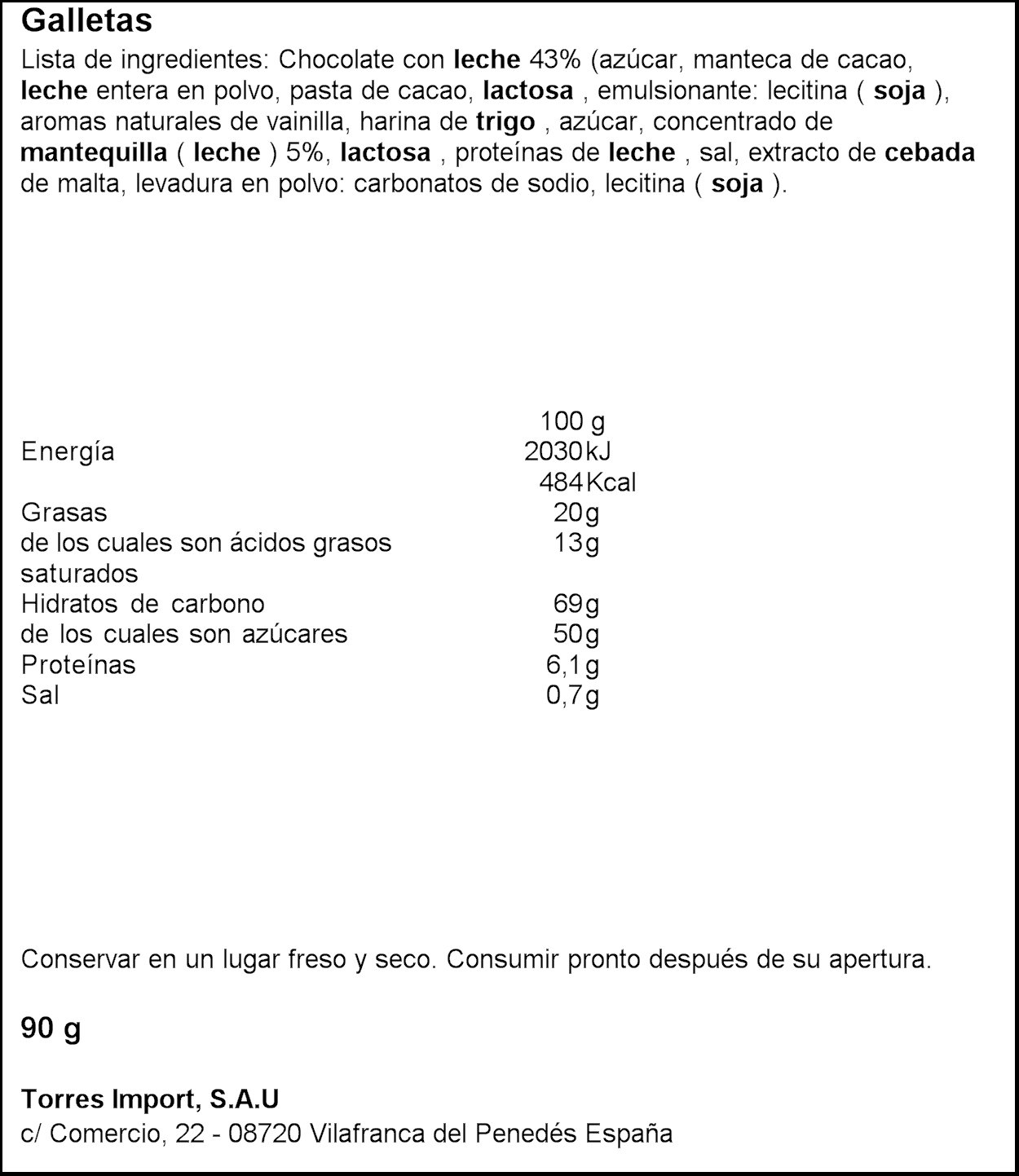 Gavottes - Crêpe Chocolate Con Leche - 90 g: Amazon.es: Alimentación y bebidas