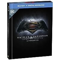 Batman v Superman: Dawn of Justice (Blu-ray + Digital Download + UV) (2-Disc Set) (Region Free + Digibook + Fully Packaged Import) - Ultimate Edition Filmbook