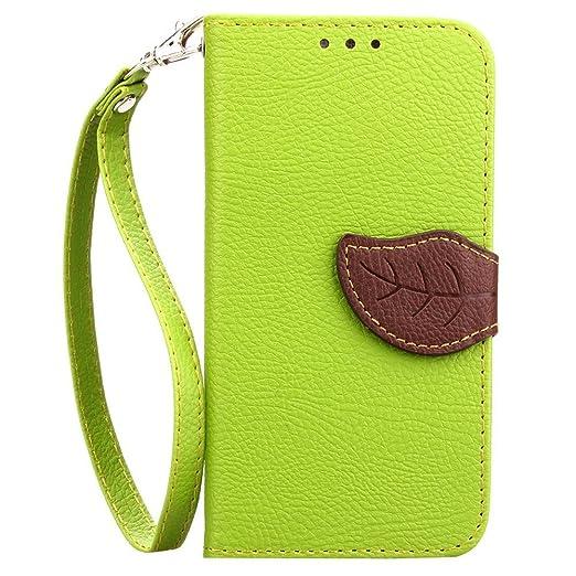 14 opinioni per HUANGTAOLI Custodia in Pelle Flip Case Cover per Samsung Galaxy Core Prime 4G VE