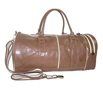 Dunlop Retro Sports Gym Shoulder Holdall Bag (Brown)  Amazon.co.uk  Luggage c58d9ce0cb