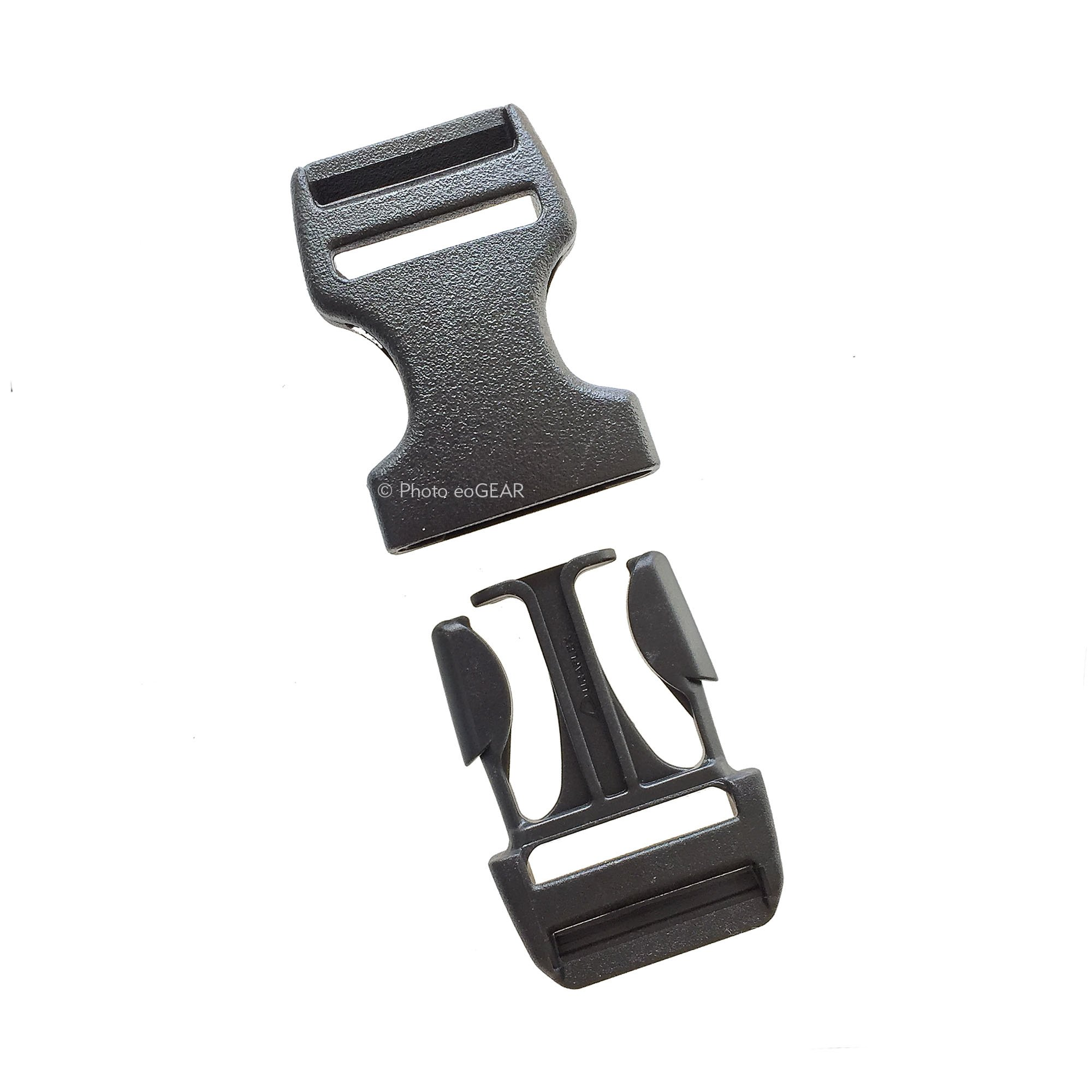 Duraflex Dual Adjust Stealth Quick-Release Buckle (1'' / 25mm) 10 Pak
