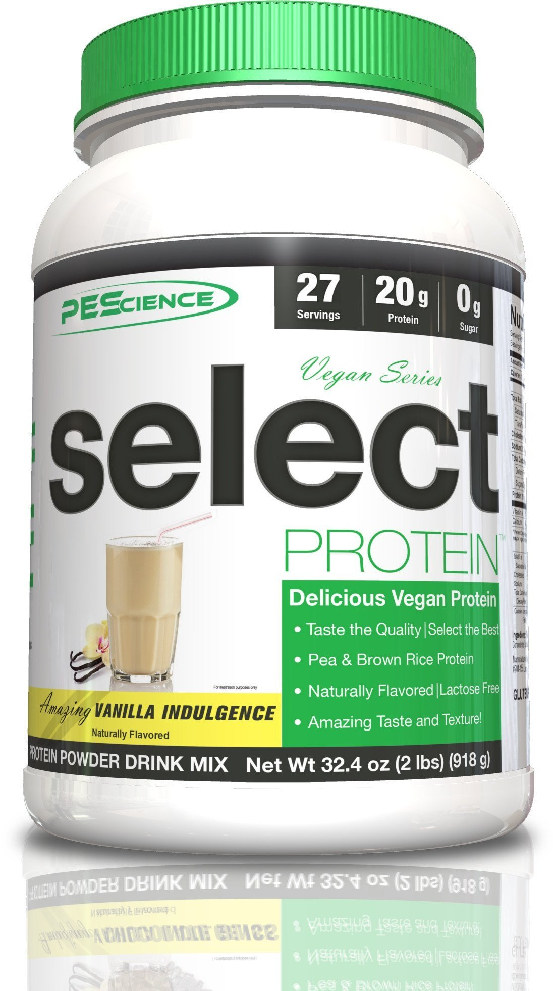PEScience Select Vegan Protein - Vanilla Indulgence (27 servings)
