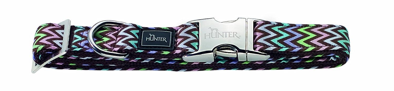 45-65cm L Hunter Collar de perro de nailon con hebilla de aluminio