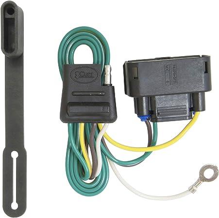 Amazon.com: CURT 56110 Vehicle-Side Custom 4-Pin Trailer Wiring Harness,  Select Ford F-150: AutomotiveAmazon.com