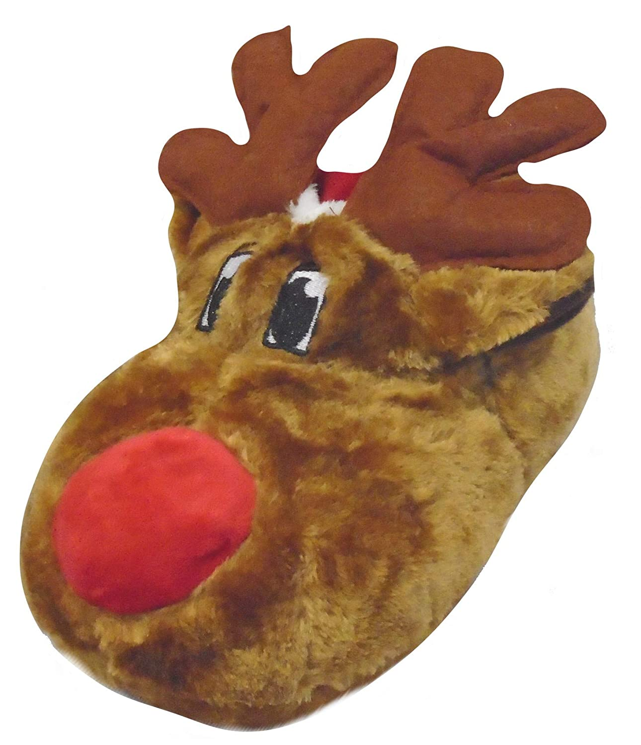 Amazon.com: Adults Rudolph Reindeer 3D Novelty Slippers 5-6 (EUR 37-38): Shoes