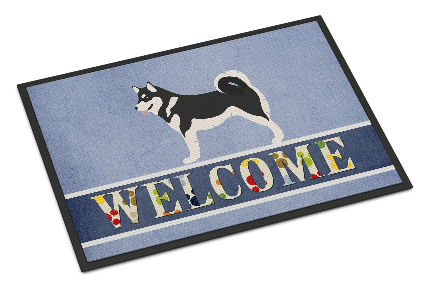 Caroline's Treasures Alaskan Malamute Welcome Doormat, 24'' x 36'', Multicolor by Caroline's Treasures (Image #1)