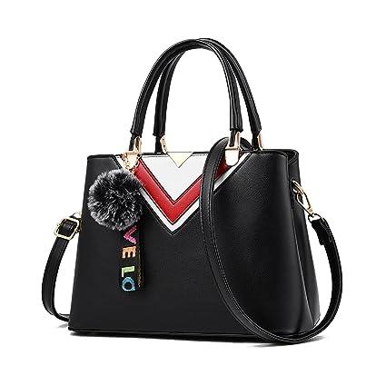 04f7d6971b Tisdaini Designer Womens PU Leather Ladies Handbags Bags for Women Shoulder  Bag Online Sale Purse: Amazon.co.uk: Luggage