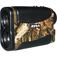AOFAR 700 Yards 6X 25mm Laser Rangefinder for Wild Hunting Golf, Measurement Range finder with Speed Scan and Fog
